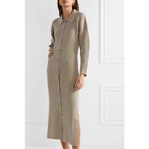 Nanushka Bella Merino Wool Cashmere Sweater Dress
